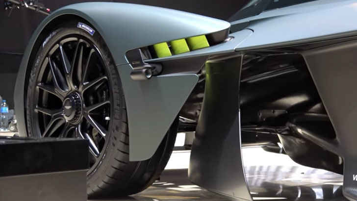 The First Fully Functional Aston Martin Valkyrie Auto Overload